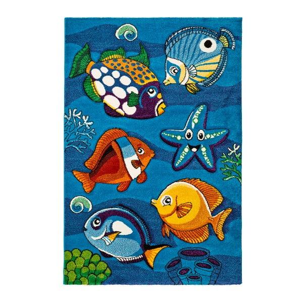 Underwater kék gyerekszőnyeg, 120 x 170 cm - Universal