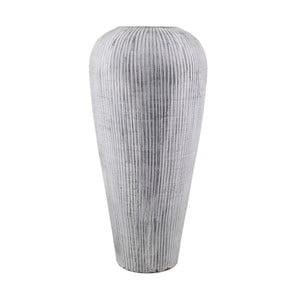 Šedá terakotová váza Moycor Lisboa, ø 40 x 80 cm
