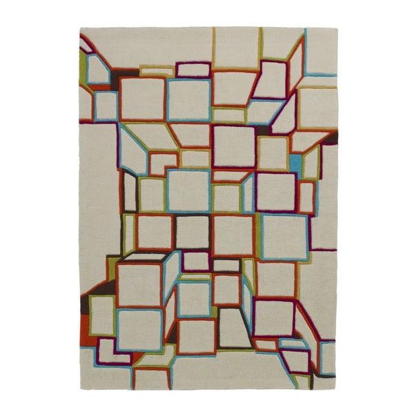Koberec HK White, 80x150 cm