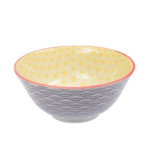 Porcelánová miska Star Yellow, 15 cm