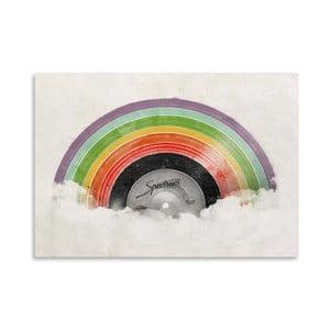 Plakát Rainbow Classic od Florenta Bodart, 30x42 cm