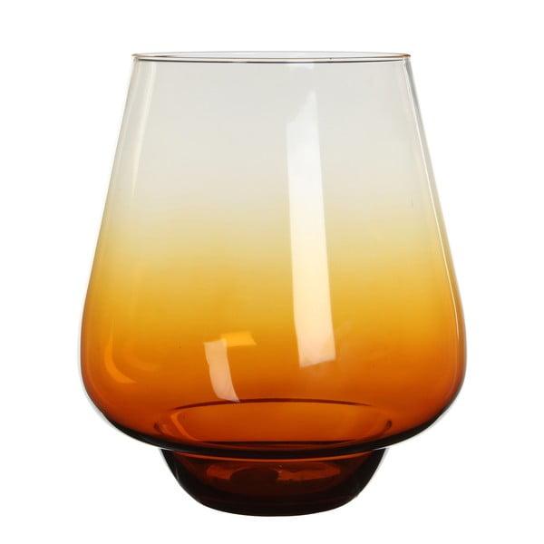 Stojan na svíčku/váza Nolan Ochre, 22 cm