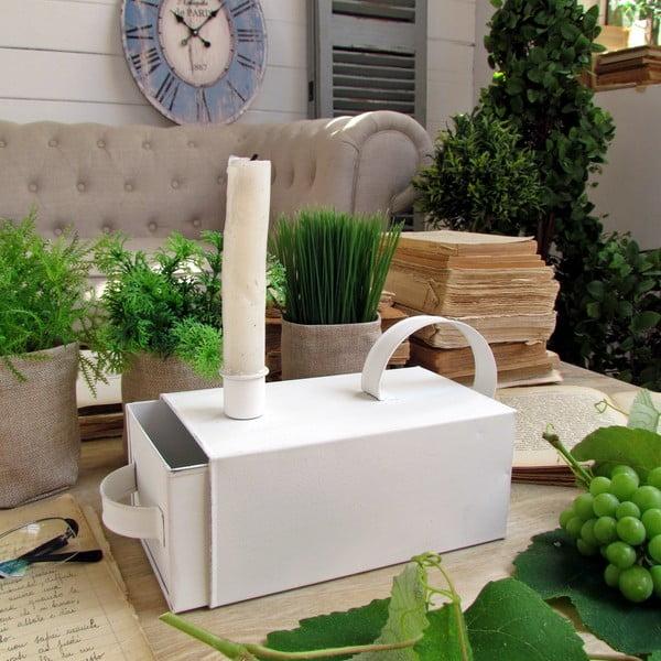 Box/svícen Candle White