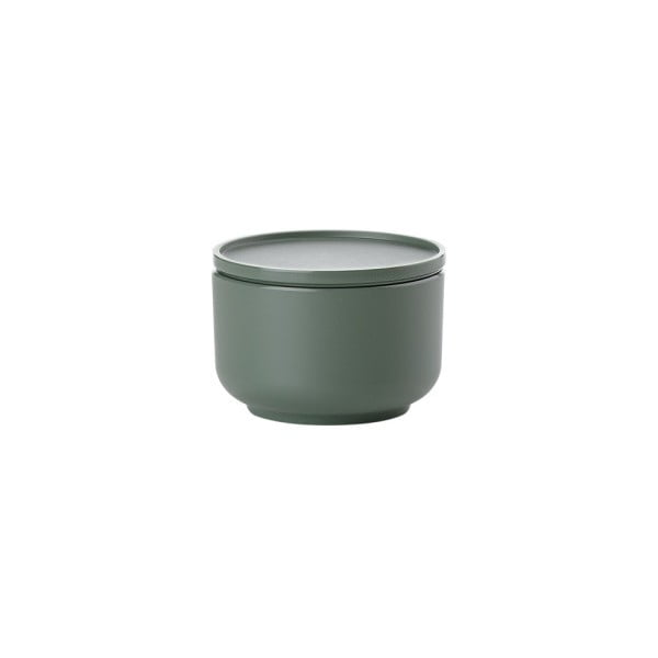 Zelená servírovací miska s víkem Zone Peili, 250 ml