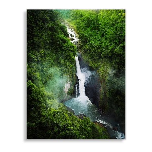 Waterfall vászonkép, 100 x 75 cm - Styler