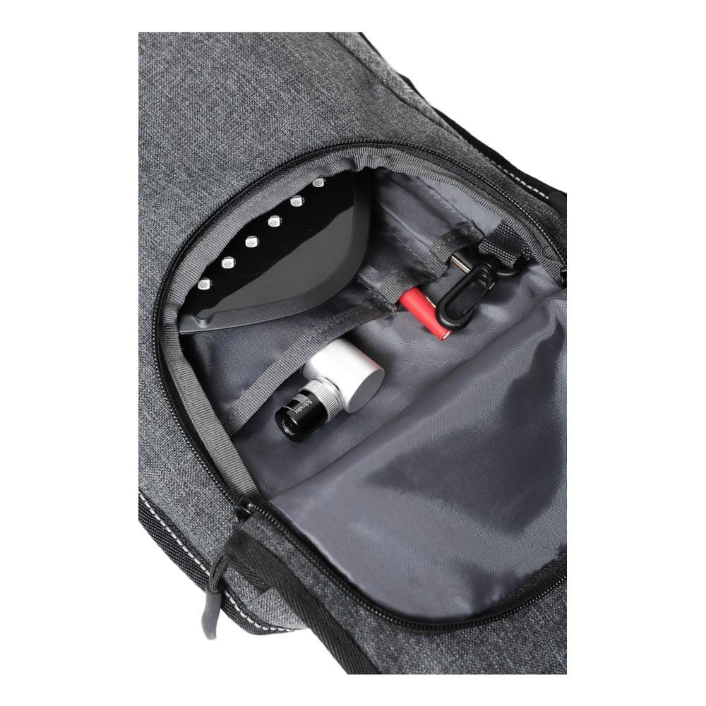 d6b43d07f44 ... Menší cyklistický batoh se signálovým LED značením MoonRide ...