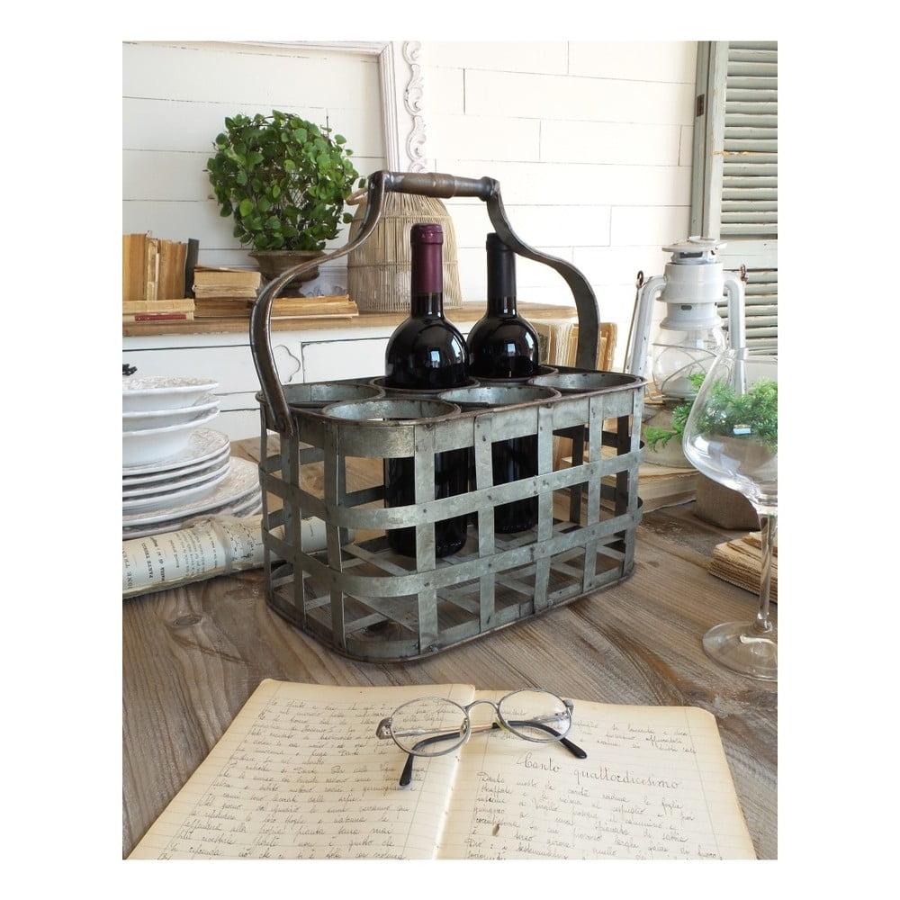 Kovový stojan na 6 lahví Orchidea Milano Industrial