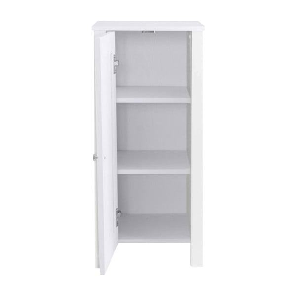 Bílá dřevěná skříňka Støraa Jenny