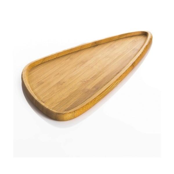 Półmisek bambusowy do serwowania Bambum Viego Triangle L
