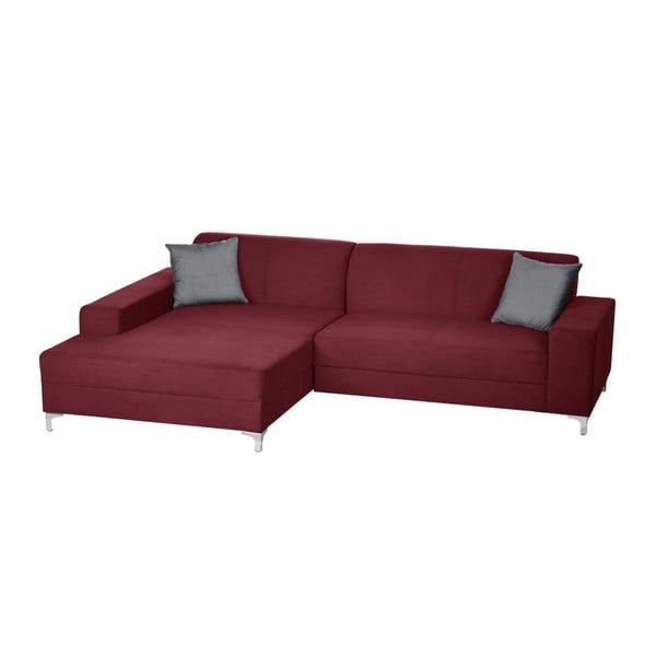 Canapea cu șezut pe partea stângă Florenzzi Bossi, roșu