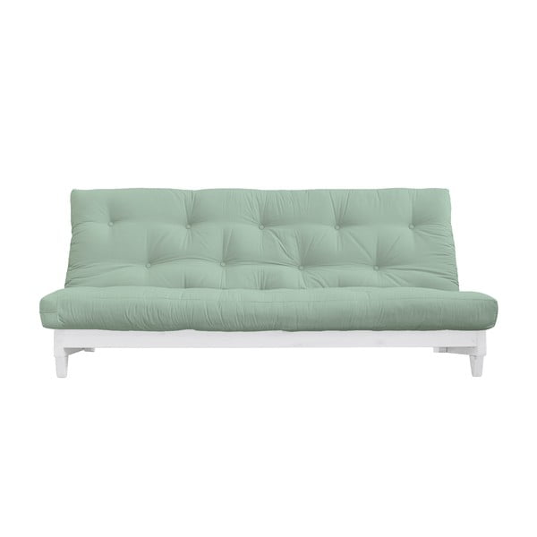 Fresh White/Mint kinyitható kanapé - Karup Design