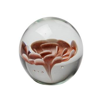 Decoraţiune din sticlă cu floare maro BePureHome Botanics imagine