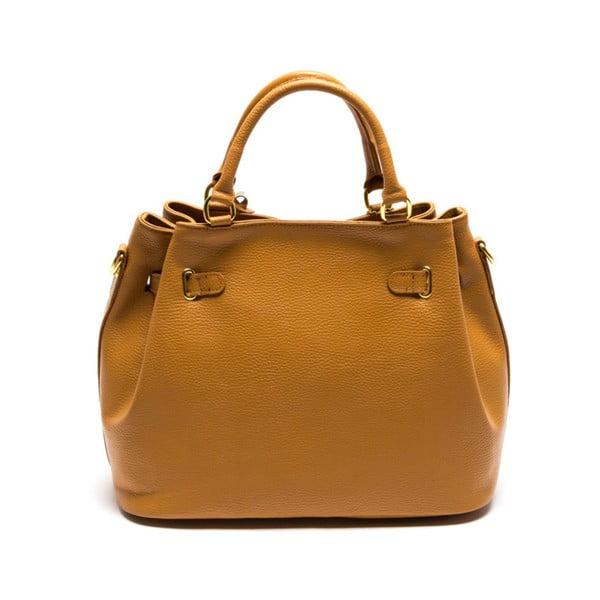 Kožená kabelka Isabella Rhea 183 Cognac
