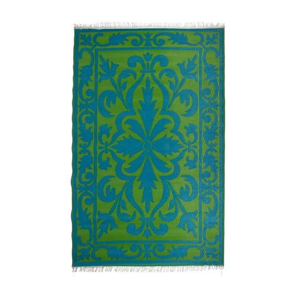 Oboustranný venkovní koberec Esschert Design Green Power, 152x241cm