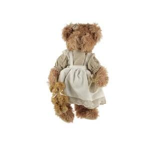 Dekorativní plyšový medvídek 30 cm, světle hnědý