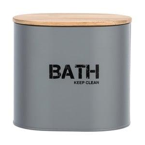Šedý koupelnový box svíkem Wenko Gara