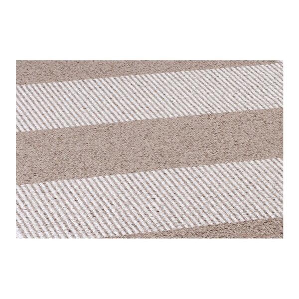 Hnědý koberec vhodný do exteriéru Narma Norrby, 70x100cm