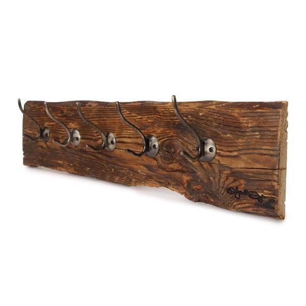 Dřevěný věšák Retro