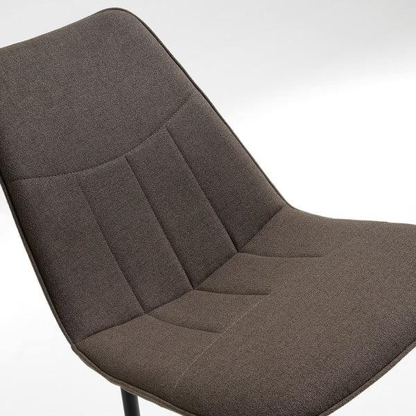 Šedá židle La Forma Trecs