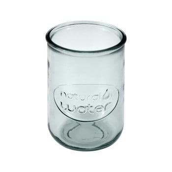 Pahar din sticlă reciclată Ego Dekor Water, 400 ml, transparent imagine