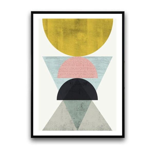 Plakát v dřevěném rámu Regia, 38x28 cm