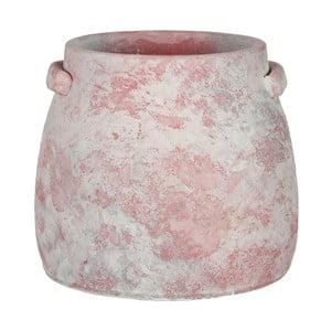 Růžový květináč Mica Marnix, 19x22cm
