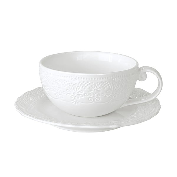 Hrnek na cappuccino Krauff Irish Lacy, 250 ml