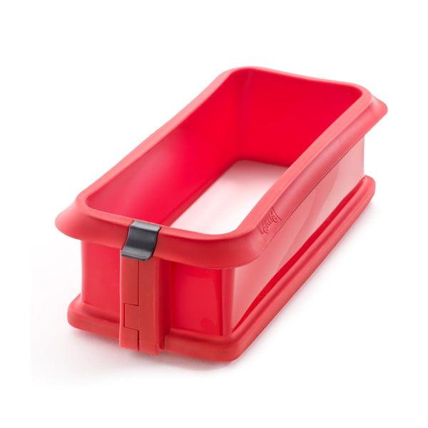 Forma na koláč s keramickým talířem, červená