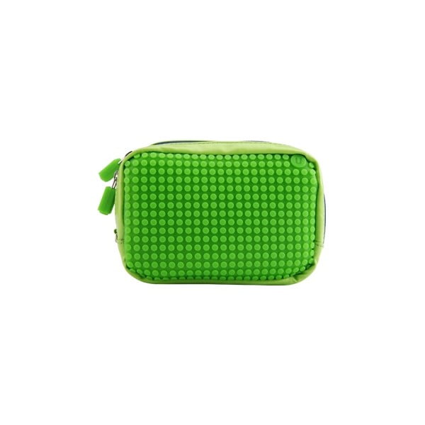 Pixelová příruční taštička, green/green