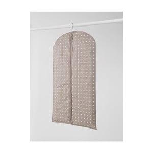 Husă mică pentru îmbrăcăminte Compactor Dots, 100 cm, bej
