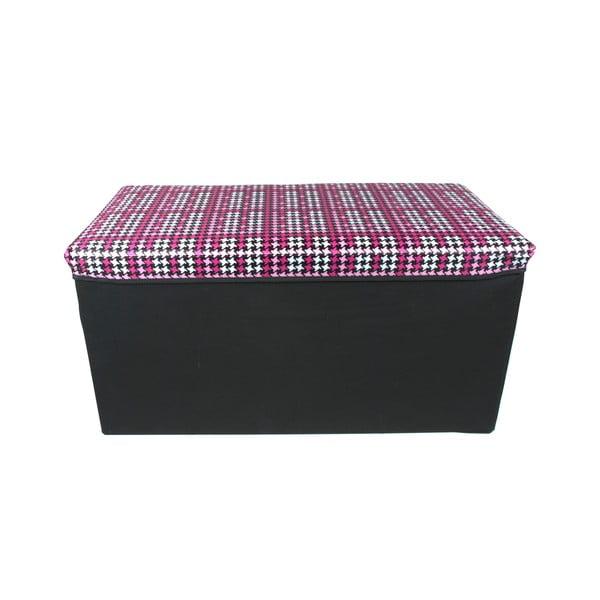 Skládací úložná krabice Pink Long