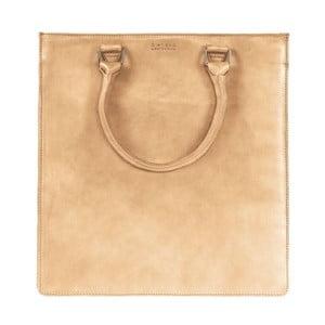 Pískově hnědá kožená kabelka O My Bag 48d37517fea