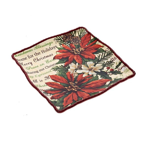 Keramický talíř Holiday, 20 cm
