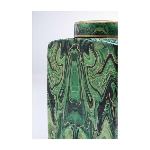 Recipient decorativ Kare Design Malachite, 42 cm, verde