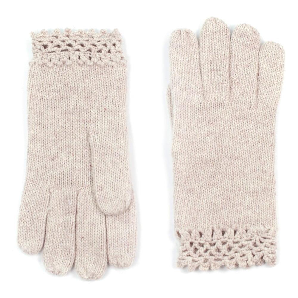 dc8b8ce9c2f Béžové dámské rukavice Art of Polo Ursula