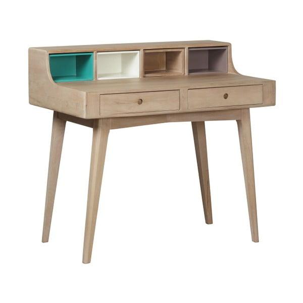 Pracovní stůl z masivního mangového dřeva Woodjam Play Light