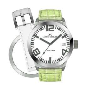 Dámské hodinky Marc Coblen s páskem a kroužkem navíc P78