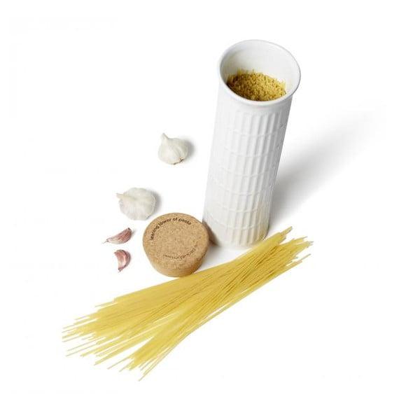 Dóza na špagety Šikmá věž s odměrkou na špagety