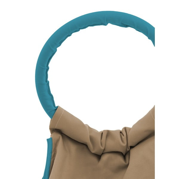 Sedací vak Vivonia Outdoor Light Brown/Ocean Blue