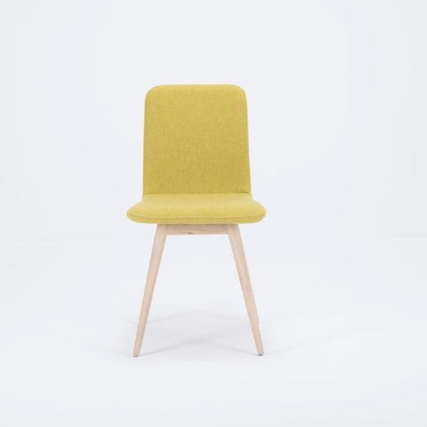 Ena sárga tölgyfa szék - Gazzda