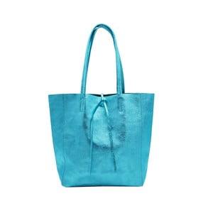 Tyrkysová kabelka z pravé kůže Andrea Cardone Larrito