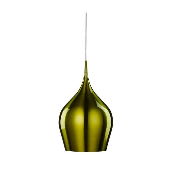 Stropní světlo Searchlight Vibrant, 26 cm, zelená