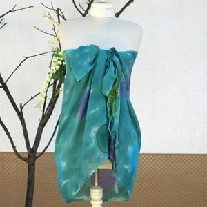 Pareo šátek Cloth Green, 70x190 cm