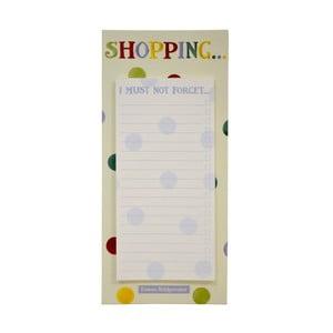 Magnetická tabulka Shopper
