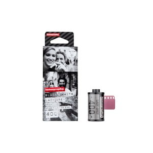 Film Lomography Lady Grey B&W 400 35mm, 3 ks