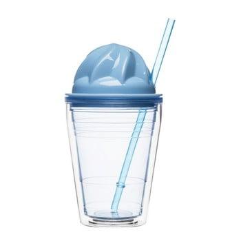 Cană petru cocktail cu lapte Sagaform, 350 ml, albastru de la Sagaform
