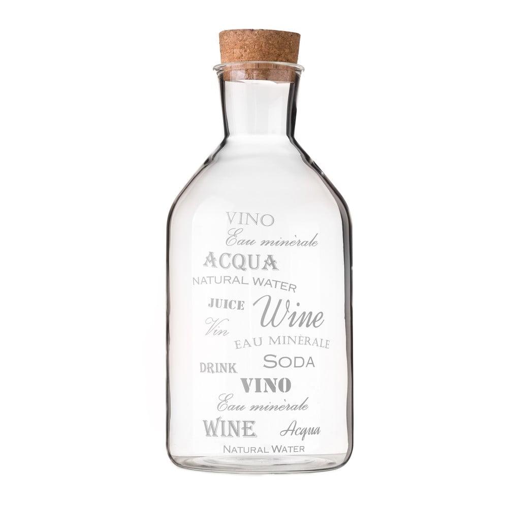 Skleněná láhev Unimasa, 1,4l