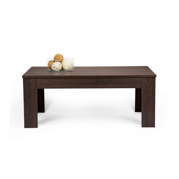 Konferenční stolek v dekoru tmavého dubu MobiliFiver Easy