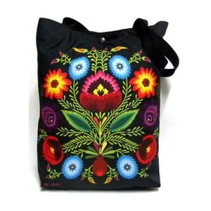 Velká taška Černá folková