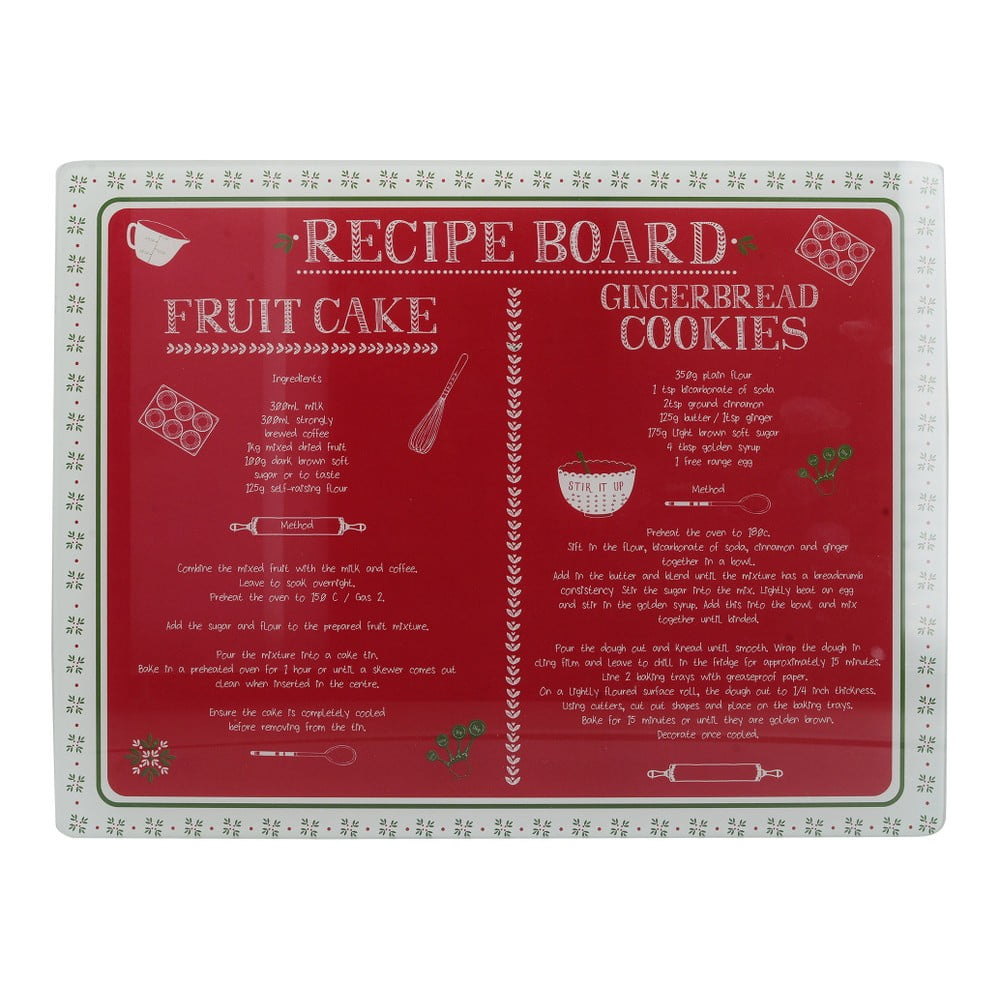 Skleněné kuchyňské prkénko Creative Tops Stir It Up, 40 x 30 cm